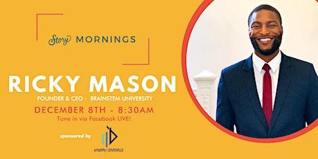 Story Mornings with Ricky Mason tickets
