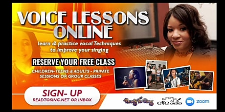 Improve Your Singing - FREE Online Vocal Class - Eve Soto tickets