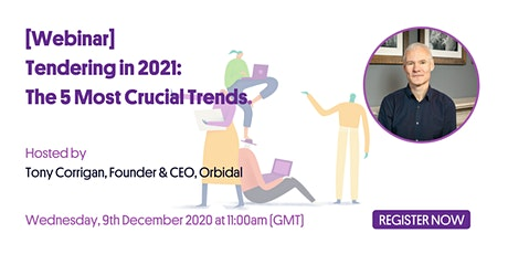 Tendering in 2021: The 5 Most Crucial Trends tickets