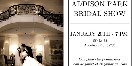 Addison Park Bridal Show tickets