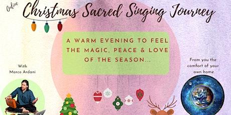 Christmas Sacred Singing Journey tickets