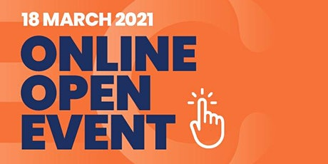 Online Open Event 18 March 2021 tickets