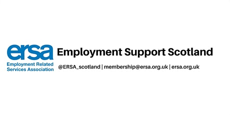 ERSA Online: Employment Support Scotland tickets