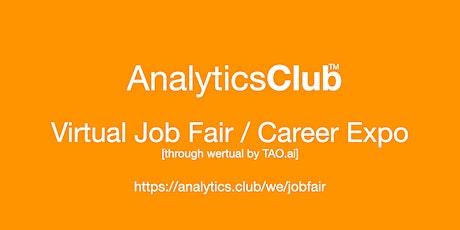 #AnalyticsClub Virtual Job Fair / Career Expo Event #Boston tickets