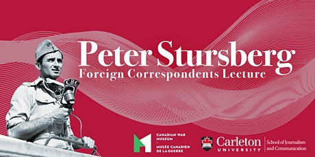 Peter Stursberg Foreign Correspondents Lecture 2020 tickets