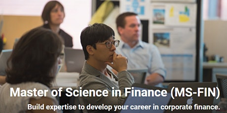 Fast Facts - Master of Science in Finance (MS-FIN) tickets