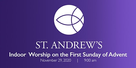 November 29 In person worship and Holy Communion tickets