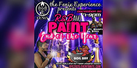 R&B and Paint™️ End of the Year Party tickets