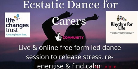 Rhythm for Life, Ecstatic Dance for Carers tickets