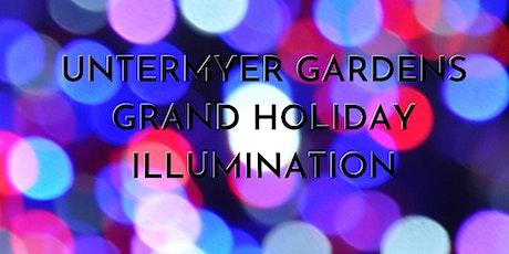 Grand Holiday Illumination at Untermyer Gardens: 12/12-12/18 tickets