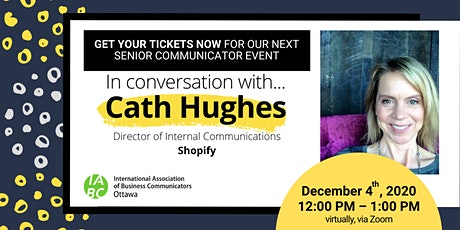 Senior Comms Event: Inside Shopify's Shift to Working 'Digital by Default' tickets