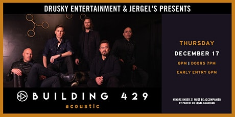 Building 429 (Acoustic) tickets