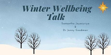 Winter Seasonal Wellbeing Talk with Dr Jenny Goodman tickets