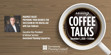 Advocis Coffee Talks: Succession in the Digital Age tickets
