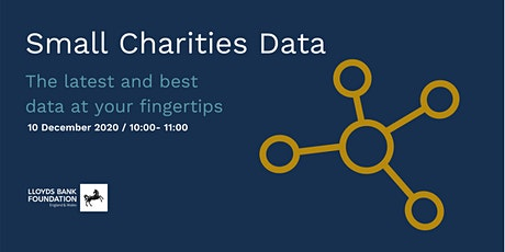 Small Charities Data: The latest and best data at your fingertips tickets