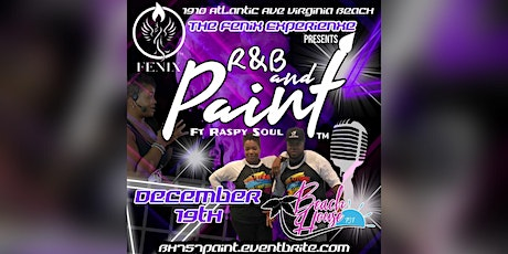 R&B Paint at the Beach The Holiday Edition tickets