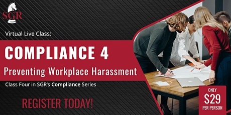 Compliance Series 2021 (II) - Preventing Workplace Harassment tickets
