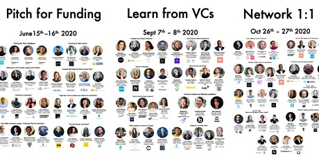 MeetFounders [UK/Europe - Jan 2021] VC Investment Panels + Pitches tickets