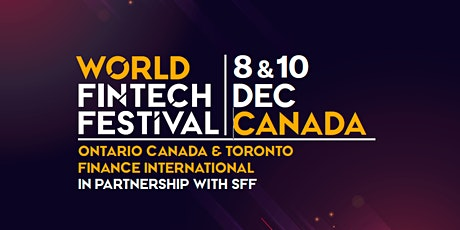 World FinTech Festival in Canada tickets