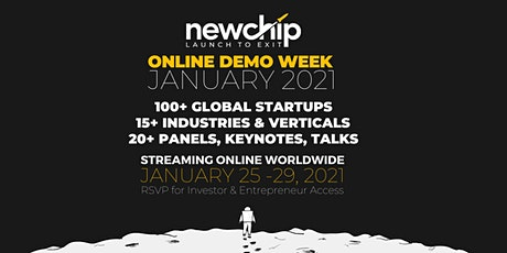 Newchip Online Demo Week - January 2021 tickets