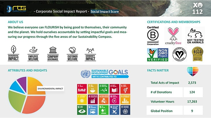 Social Impact Challenge. Lead 2021 with Positivity. image