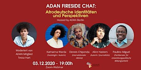 ADAN Fireside Chat: Afrodeutsche Identitäten und Perspektiven
