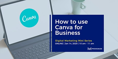 How to Use Canva for Business tickets