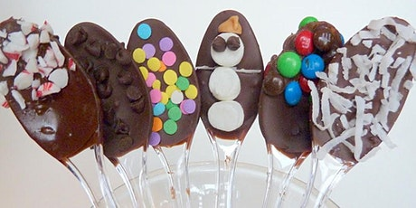 Crafting Hot Cocoa Spoons with Girl Scouts