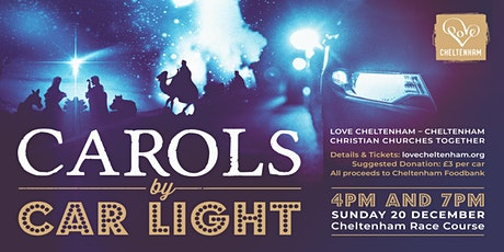 Love Cheltenham - Drive in 'Carols by Carlight' 7PM tickets