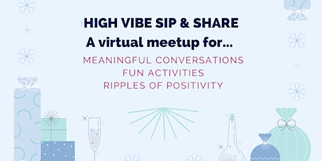 High-Vibe Virtual Sip & Share - Spice up your holiday spiritis -  Nov 25th tickets