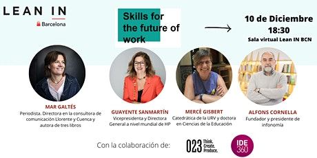 Lean In BCN | Skills for the future of work tickets