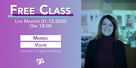 FREE CLASS con Marzia Volpe