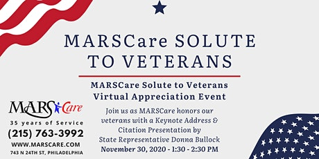 MARSCare Salute to Veterans tickets