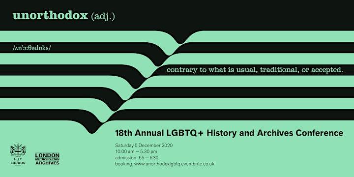 18th  Annual LGBTQ+ Conference: UNORTHODOX image
