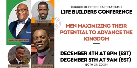 Life Builders Ministry Conference tickets