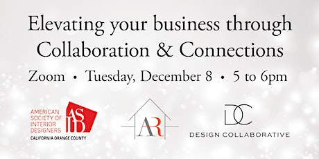 ASID OC Presents Collaborations and Connections tickets