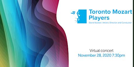 Toronto Mozart Players' November Concert tickets