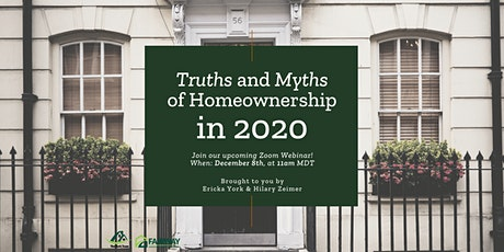 Truth and Myths of Homebuying in 2020 tickets