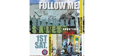 Saturday Sidewalk Sales tickets