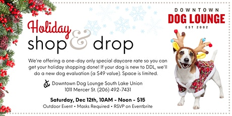 Shop & Drop at SLU tickets