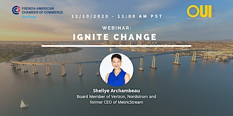 Webinar: Ignite Change with the Board Member of Verizon and Nordstrom tickets