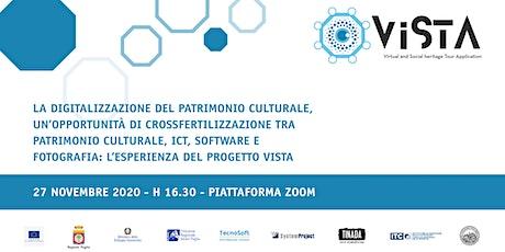 La digitalizzazione del patrimonio culturale - Il  progetto Vista biglietti