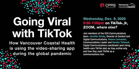Going viral with TikTok: How Vancouver Coastal Health is using the video-sh tickets