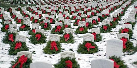 Wreaths Across NH-Dover; Christmas wreaths on Veterans gravesites tickets