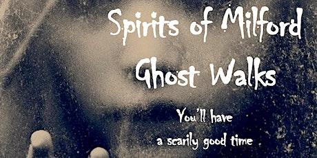 Saturday, August 14, 2021 Spirits of Milford Ghost Walk tickets