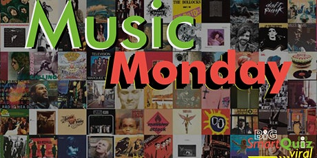 Music Monday: Pop, Dance, Rock, Soul pub quiz online tickets