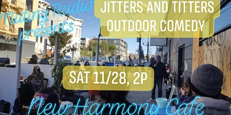Jitters and Titters Outdoor Comedy tickets