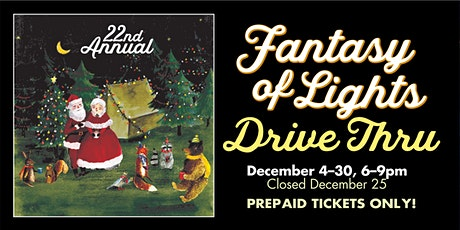 Fantasy of Lights Drive-Thru 2020 tickets