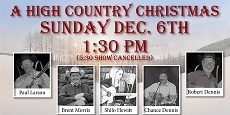 A High Country Christmas tickets