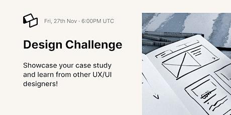 Monthly Design Challenge tickets